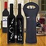 Deluxe Wine Bottle Gift Set and Built NY Wine Bottle Tote Bundle