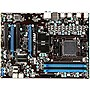 MSI 970A-G43 Desktop Motherboard - AMD 970 Chipset - Socket AM3+ - ATX - 1 x Processor Support - 32 GB DDR3 SDRAM Maximum RAM - CrossFireX Support - Serial ATA/600 RAID Supported Controller - 2 x PCIe x16 Slot - 2 x USB 3.0 Port