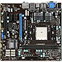MSI FM2-A85XMA-E35 Desktop Motherboard - AMD A85X Chipset - Socket FM2 - Micro ATX - 1 x Processor Support - 32 GB DDR3 SDRAM Maximum RAM - Hybrid CrossFireX Support - Serial ATA/600 RAID Supported Controller - CPU Dependent Video - 1 x PCIe x16 Slot - 2