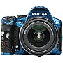 "Pentax K-30 16.3 Megapixel Digital SLR Camera (Body with Lens Kit) - 18 mm - 55 mm - Blue - 3"" LCD - 3.1x Optical Zoom - Optical (IS) - 4928 x 3264 Image - 1920 x 1080 Video - HD Movie Mode"