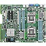 Asus Z9NA-D6C Server Motherboard - Intel C602-A Chipset - Socket B2 LGA-1356 - ATX - 2 x Processor Support - 192 GB DDR3 SDRAM Maximum RAM - Serial ATA/300, Serial ATA/600 RAID Supported Controller - On-board Video Chipset - 1 x PCIe x16 Slot