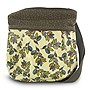 Travelon Printed Crossbody Bag with Adjustable Shoulder Strap - Leaves