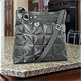 Travelon Quilted Nylon Shoulder Bag with Adjustable Shoulder Strap - Gray