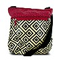 Travelon Printed Crossbody Bag with Adjustable Shoulder Strap - Geometric Pattern