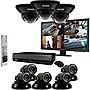 Revo R164D3GT5GM21-2T 16Ch 2TB DVR Surveillance System, 8 Cameras & Monitor