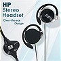 HP Stereo Headset with Volume Controls and Mic (Over-The-Ear)