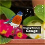 Indoor Gardener Singing Moisture Gauge (Bluebird)