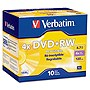 Verbatim DataLifePlus 94839 DVD Rewritable Media - DVD+RW - 4x - 4.70 GB - 10 Pack Slim Case - 2 Hour Maximum Recording Time