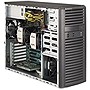 Supermicro SuperWorkstation 7037A-i Barebone System Mid-tower - Intel C602 Chipset - Socket R LGA-2011 - 2 x Processor Support - Black - 512 GB Maximum RAM Support - Serial ATA/600 RAID Supported Controller - 7 x Total Bays - 6 x Total Expansion Slots - P