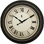 16IN PLASTIC WALL CLOCK ANTIQUE GOLD FINISH