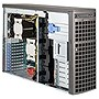 Supermicro SuperWorkstation 7047AX-72RF Barebone System - 4U Tower - Intel C602 Chipset - Socket R LGA-2011 - 2 x Processor Support - Black - 512 GB Maximum RAM Support - Serial ATA/600, Serial ATA/300, 6Gb/s SAS RAID Supported Controller - Matrox G200eW