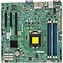 Supermicro X10SLM+-F Server Motherboard - Intel C224 Chipset - Socket H3 LGA-1150 - Retail Pack - Micro ATX - 1 x Processor Support - 32 GB DDR3 SDRAM Maximum RAM - Serial ATA/600, Serial ATA/300 RAID Supported Controller - CPU Dependent Video - 1 x PCIe