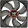"LEPA 12cm 70D Fan - 1 x 4.72"" - 1600 rpm - Barometric Oilless Bearing"