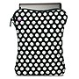 "BUILT 16"" Neoprene Laptop Zippered Sleeve (Big Dot Black & White)"