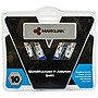 MaxxLink V3 DUARDRAtwist Dual Male to Single Female Y-adapter (pair) - RCA for Audio Device - 2 x RCA Male Audio - 1 x RCA Female Audio - Nickel Plated
