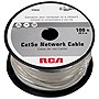 RCA Cat.5e Network Cable - Category 5e for Network Device - 100 ft - 1 x RJ-45 Male Network - 1 x RJ-45 Male Network - Gray