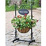 Blacksmith Welcome Planter
