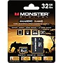 Monster Digital 32 GB Secure Digital High Capacity (SDHC) - 1 Card