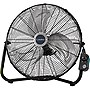 "Lasko 2264QM Floor Fan - 20"" Diameter - 3 Speed - Wall Mountable - 22.5"" Height x 12.6"" Width - Metal"