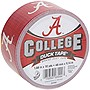 "Duck Alabama Crimson Tide - 1.88"" Width x 30 ft Length - Easy Tear - 6 Roll"