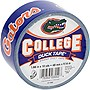 "Duck College Tape - Florida - 1.88"" Width x 30 ft Length - Easy Tear - 6 / Case"