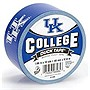 "Duck Kentucky Wildcats - 1.88"" Width x 30 ft Length - Easy Tear - 6 / Case"