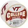 "Duck College Tape - Virginia Tech - 1.88"" Width x 30 ft Length - Easy Tear - 6 / Case"
