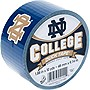 "Duck College Tape - Notre Dame - 1.88"" Width x 30 ft Length - Easy Tear - 6 / Case"