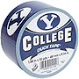 "Duck College Tape - BYU - 1.88"" Width x 30 ft Length - Easy Tear - 6 / Case"