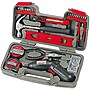 Apollo 70 Piece Household Tool Kit with 6V Cordless Screwdriver