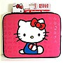 Hello Kitty Laptop Sleeve Pink