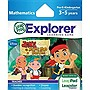 LeapFrog Explorer Game Cartridge: Disney Jake and the Never Land Pirates - Educational Game - Leapster Explorer, LeapsterGS