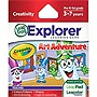 LeapFrog Explorer Game Cartridge: Crayola Art Adventure - Educational Game - Cartridge - Leapster Explorer, LeapsterGS