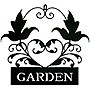 "Gardman Garden Plaque Wall Art - 16"" L x 12.5"" W - Plaque - 12.5"" x 16.5"""
