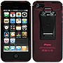 Nite Ize Connect Carrying Case for iPhone - Cranberry - Shatter Proof - Polycarbonate