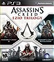 Assassins Creed Ezios Trilogy (Playstation 3)