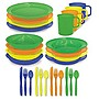 4 Person Polyware Picnic Set