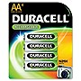 Duracell Nickel Metal Hydride General Purpose Battery - 2450 mAh - AA - Nickel Metal Hydride (NiMH) - 1.2 V DC