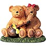Kelkay 4450 Outdoor Honey Pot Bears Garden Statue