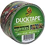 "Duck Teenage Mutant Ninja Turtles Tape - 1.88"" Width x 30 ft Length - Easy Tear - 6 / Case"