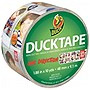 "Duck One Direction Tape Duct Tape - 1.88"" Width x 30 ft Length - Easy Tear - 6 / Case"