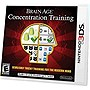 Brain Age Concentration Training - Nintendo 3DS
