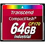Transcend CF170 64 GB CompactFlash (CF) Card - 90 MBps Read - 60 MBps Write - 1 Card