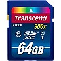 Transcend Premium 64 GB Secure Digital Extended Capacity (SDXC) - Class 10/UHS-I - 1 Card