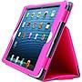 "Kensington Portafolio K97128WW Carrying Case (Folio) for 8"" iPad mini - Pink - Scratch Resistant, Damage Resistant, Drop Resistant"