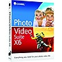 Corel Photo Video Suite v.X6 - Complete Product - 1 User - Video Editing - Standard Mini Box Retail - PC - English