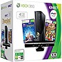 Microsoft Xbox 360 4GB Kinect Holiday Bundle - With Game Pad, Kinect - Wireless - Black - ATI Xenos - 1920 x 1080 - 16:9 - 1080p - Dolby Digital - DVD-Reader - 4 GB Flash - Fast Ethernet - Wireless LAN - HDMI - USB