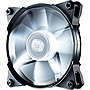 "Cooler Master JetFlo 120 - High Performance White LED 120mm Computer Fan with POM Bearing - 1 x 4.72"" - 2000 rpm - POM Bearing"