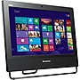 "Lenovo ThinkCentre M73z 10BC000DUS All-in-One Computer - Intel Core i3 i3-4130 3.40 GHz - Desktop - Business Black - 4 GB RAM - 500 GB HDD - DVD-Writer - Intel HD 4400 - Windows 7 Professional 64-bit - 20"" Display - Wireless LAN - Bluetooth"