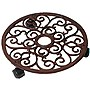 Plant Trolley Round Cast Iron